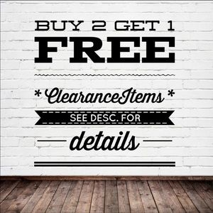 Other - 🌟Buy two get one free Items! Get a great deal🌟